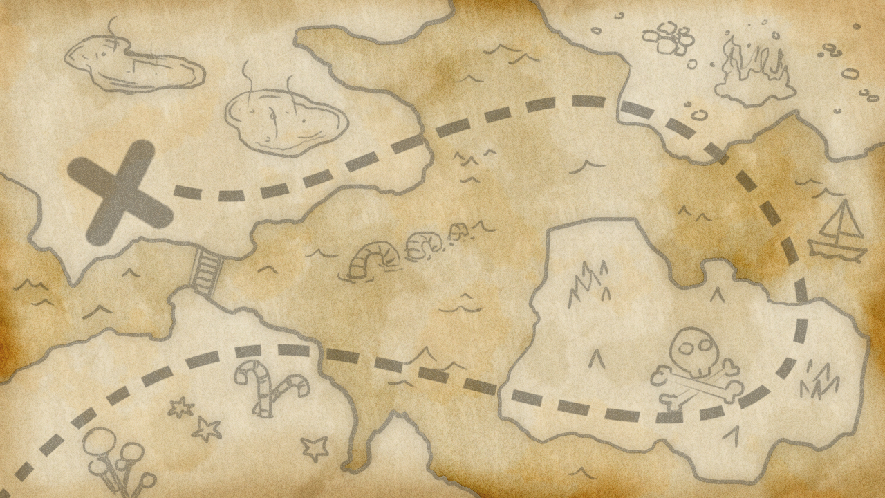 simple treasure maps vintage - photo #17
